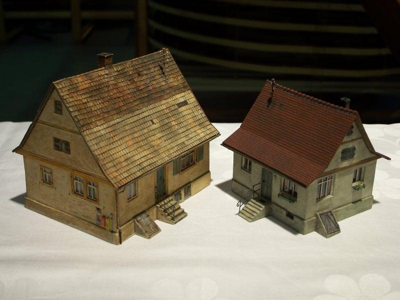 HO-Modellhaus mit hohem Detailierungsgrad   Webseite von Sven Skrabal