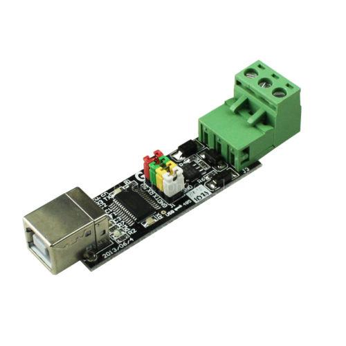 Über eBay aus China bezogener RS485 zu RS232 Adapter