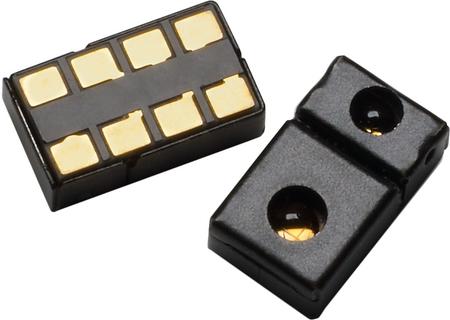 Der Sensor selbst von der Vorder- und Rückseite (Bild Copyright Octopart)